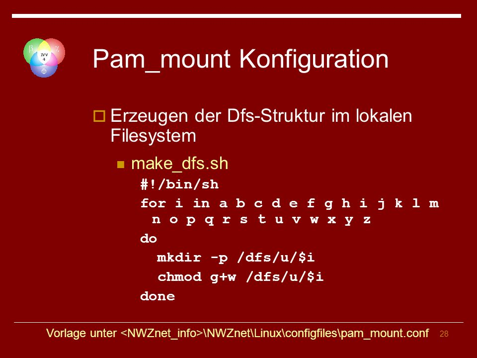 Pam_mount Konfiguration