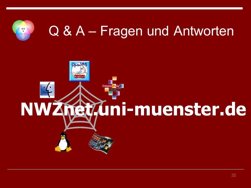 Q & A – Fragen und Antworten