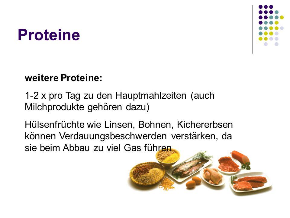 Proteine weitere Proteine: