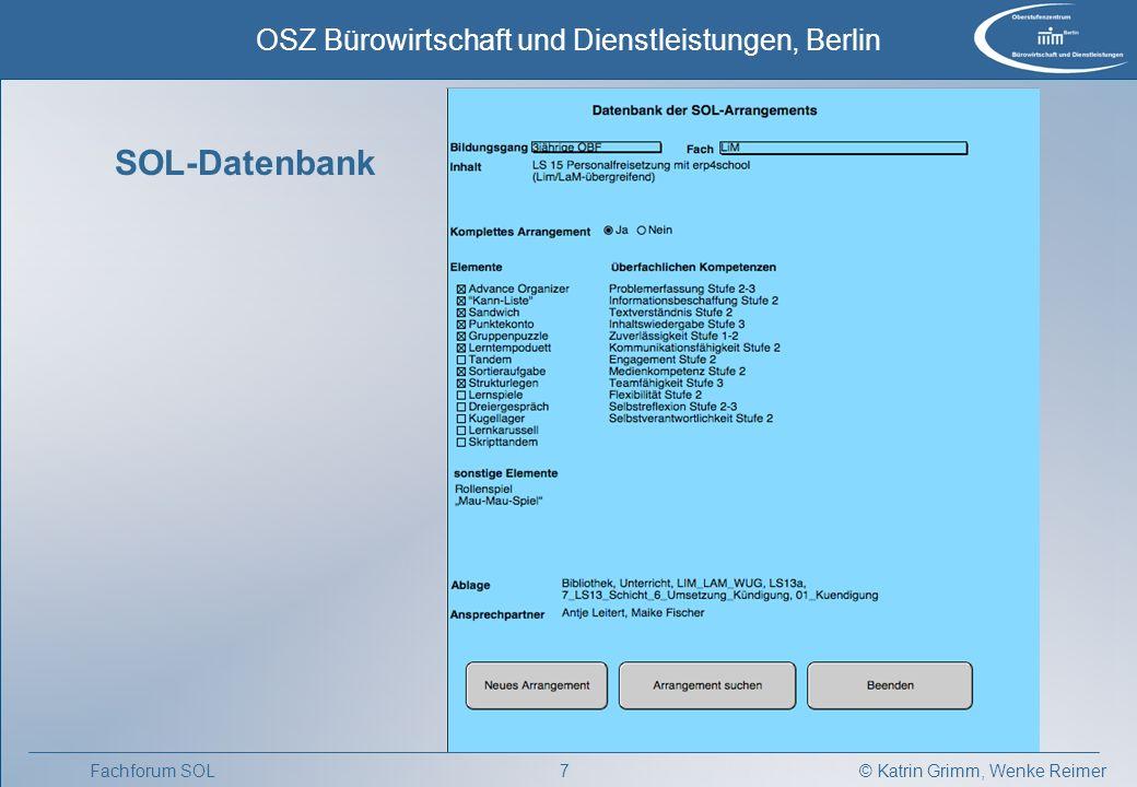 SOL-Datenbank