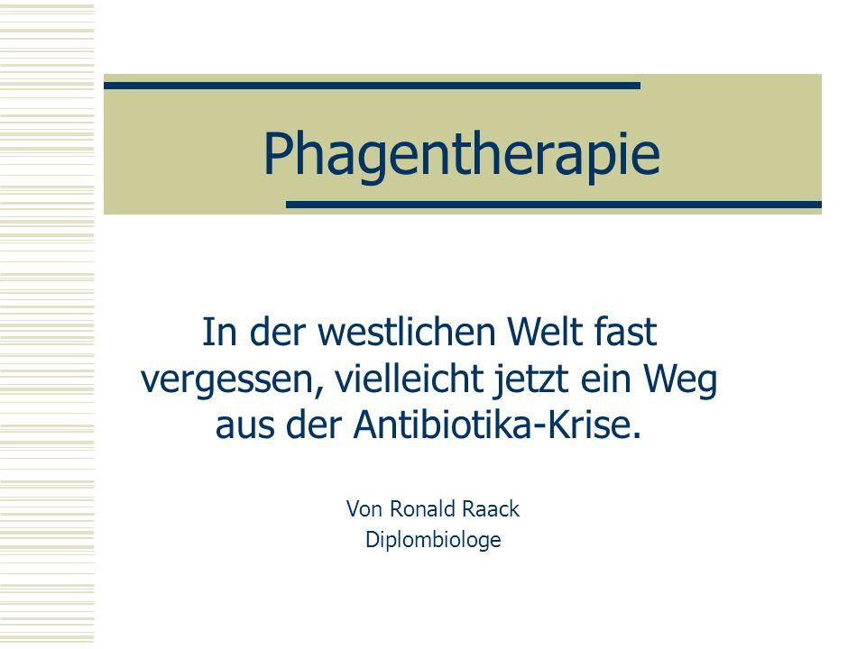 Von Ronald Raack Diplombiologe