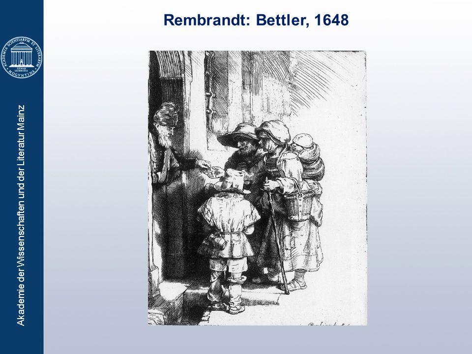 Rembrandt: Bettler, 1648