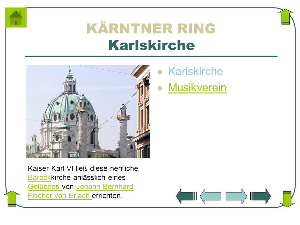 KÄRNTNER RING Karlskirche