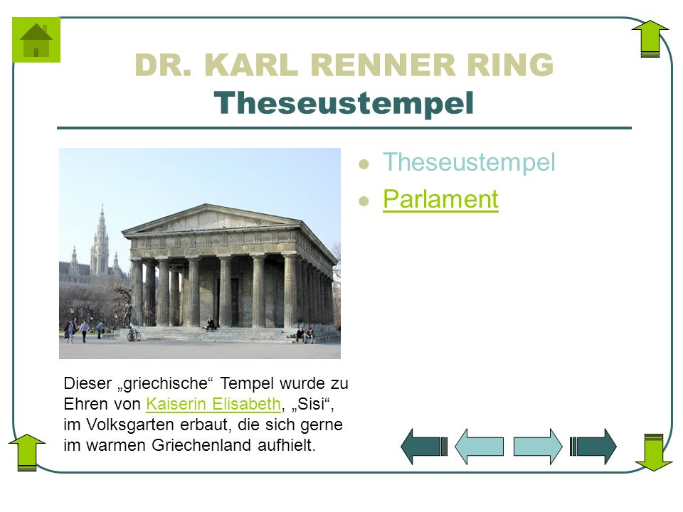 DR. KARL RENNER RING Theseustempel