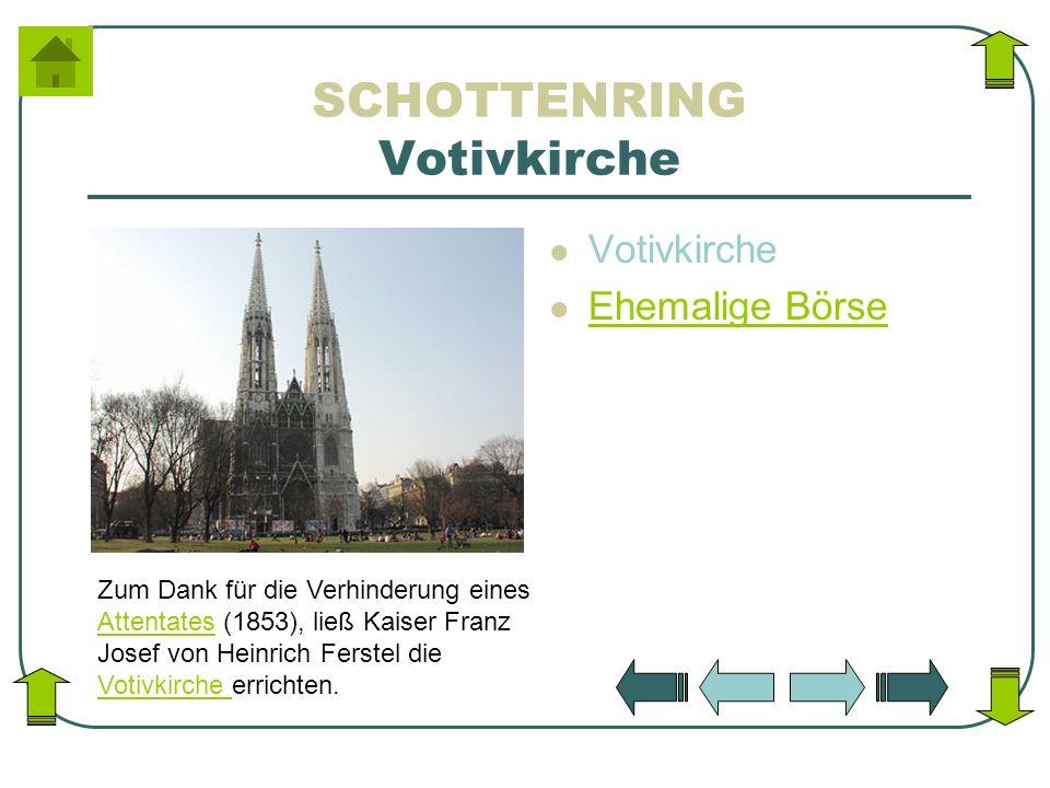SCHOTTENRING Votivkirche