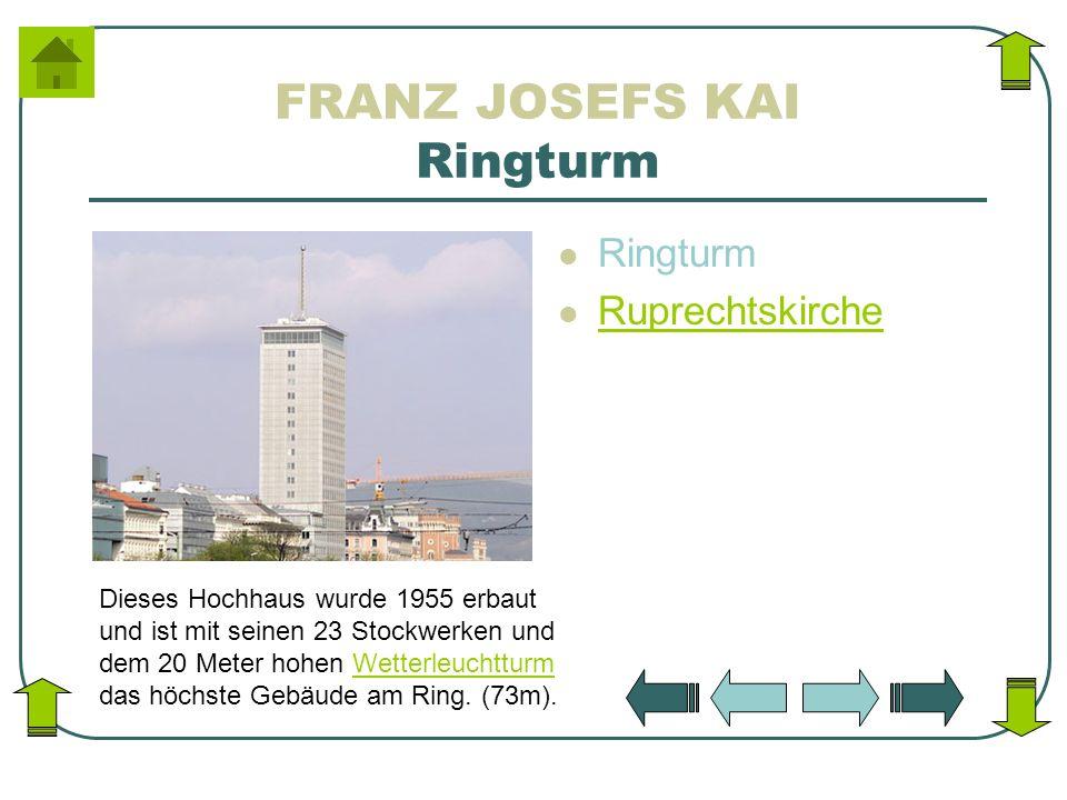 FRANZ JOSEFS KAI Ringturm