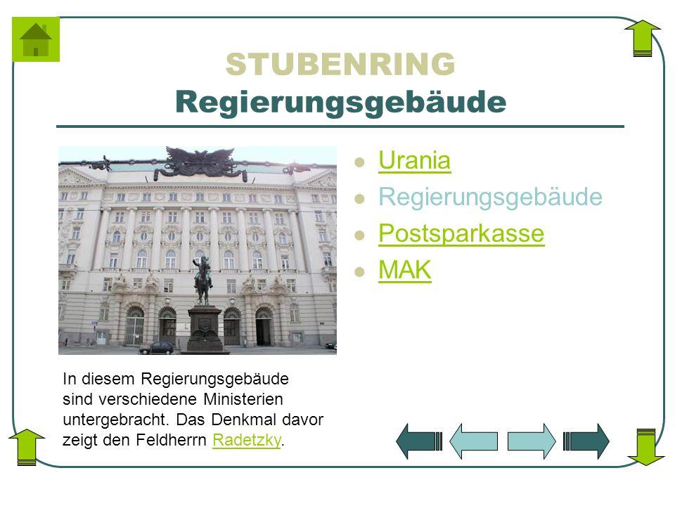 STUBENRING Regierungsgebäude
