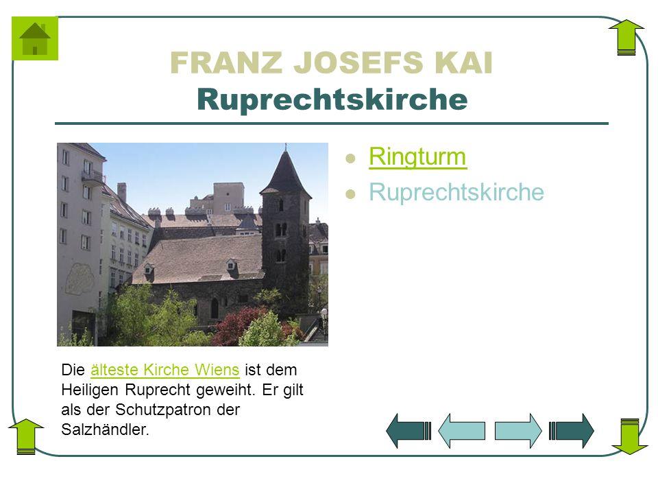 FRANZ JOSEFS KAI Ruprechtskirche