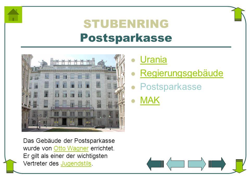 STUBENRING Postsparkasse