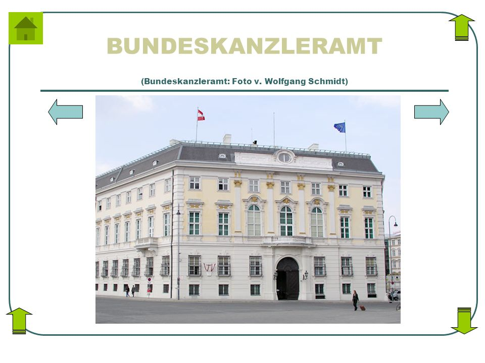 (Bundeskanzleramt: Foto v. Wolfgang Schmidt)
