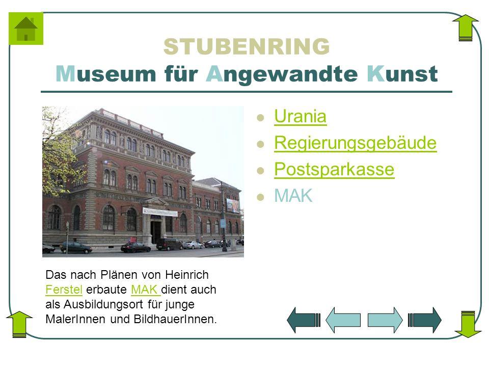 STUBENRING Museum für Angewandte Kunst
