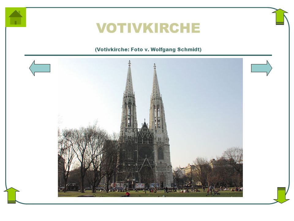 (Votivkirche: Foto v. Wolfgang Schmidt)