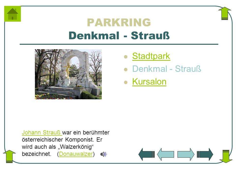 PARKRING Denkmal - Strauß