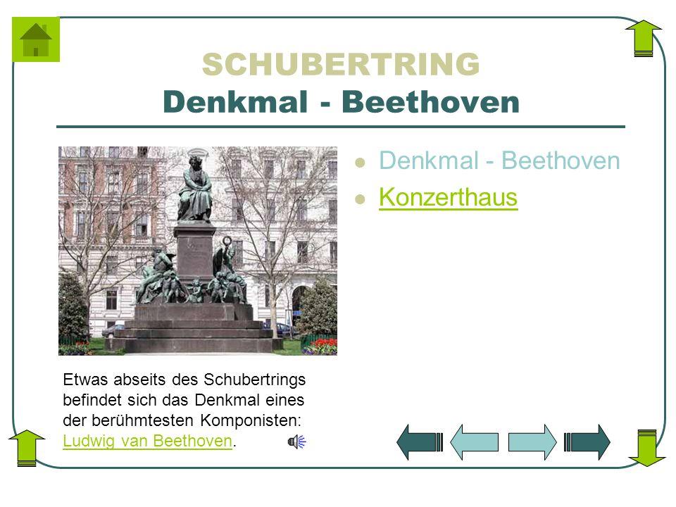 SCHUBERTRING Denkmal - Beethoven