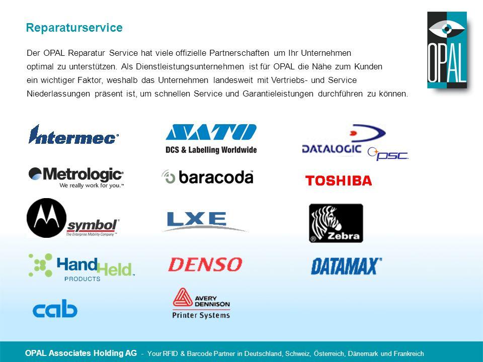 ReparaturserviceDer OPAL Reparatur Service hat viele offizielle Partnerschaften um Ihr Unternehmen.