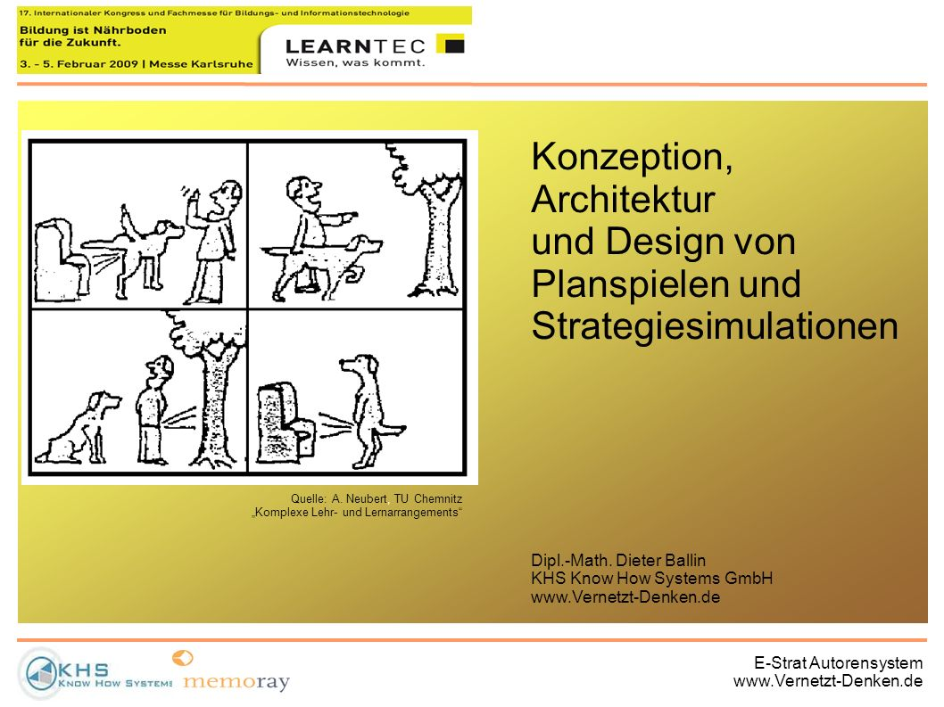 Konzeption, Architektur und Design von Planspielen und