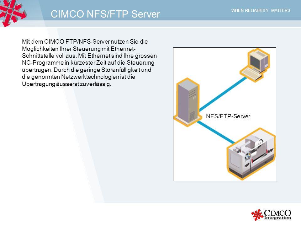 CIMCO NFS/FTP Server