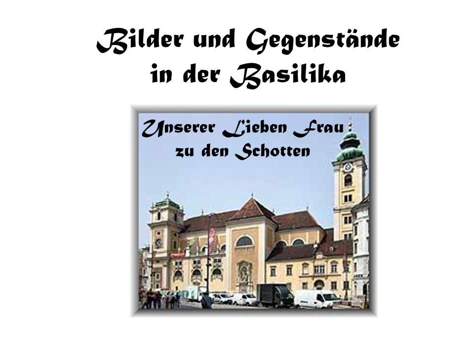 Bilder und Gegenstände in der Basilika