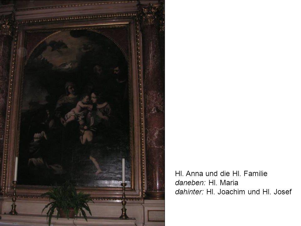 Hl. Anna und die Hl. Familie