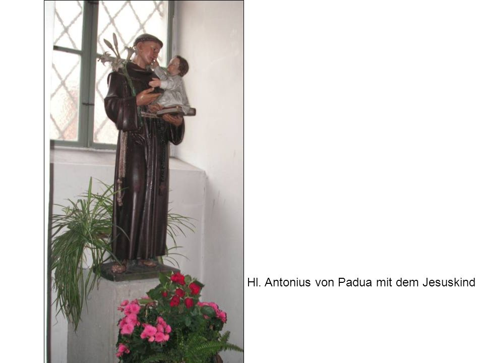 Hl. Antonius von Padua mit dem Jesuskind