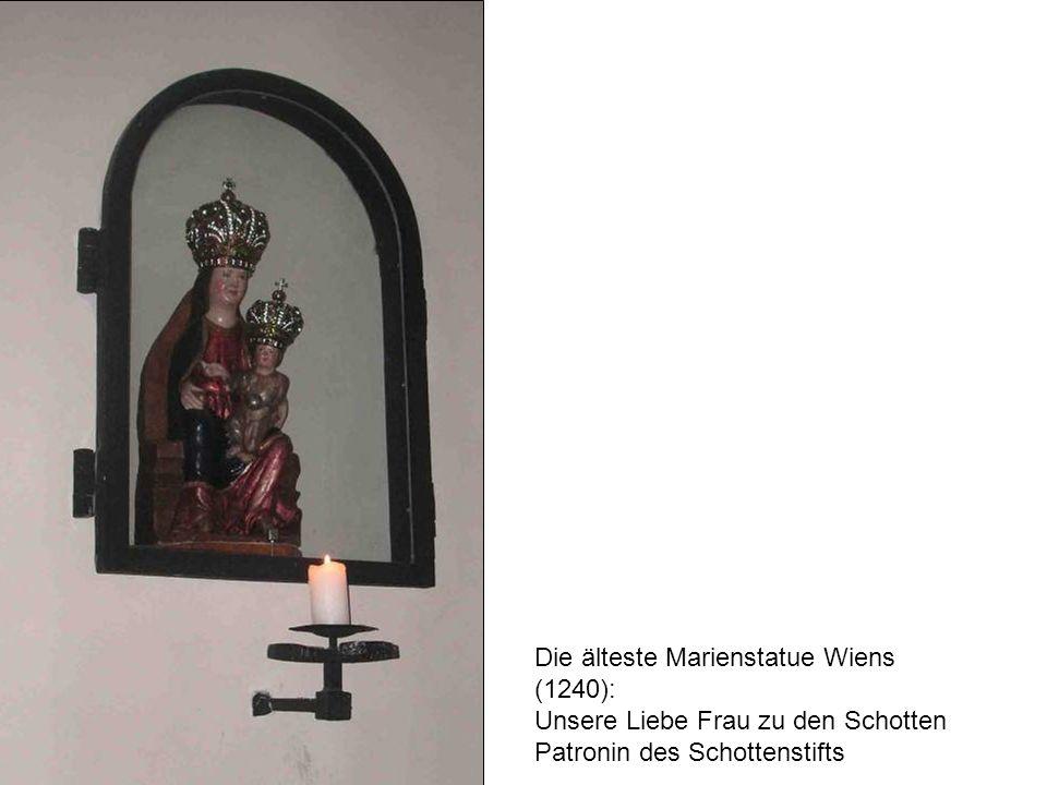 Die älteste Marienstatue Wiens (1240):
