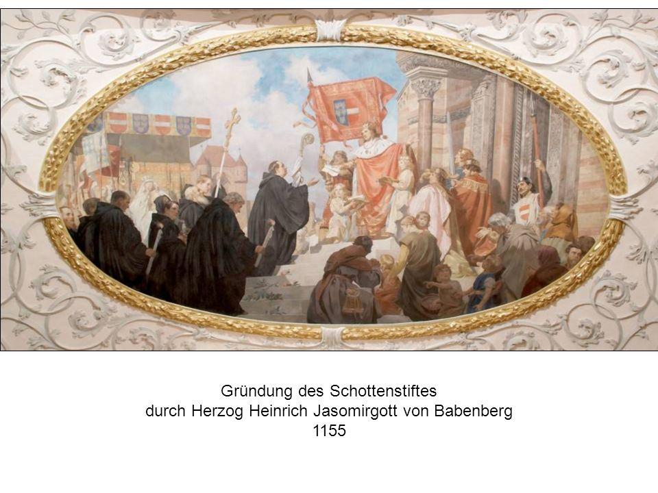 Gründung des Schottenstiftes