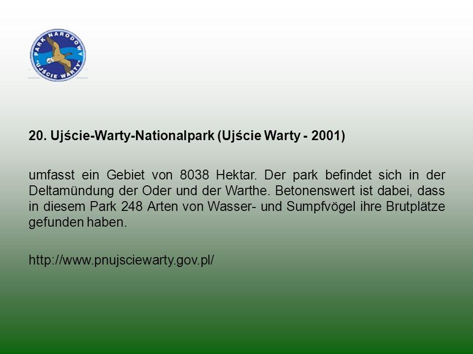 20. Ujście-Warty-Nationalpark (Ujście Warty - 2001)