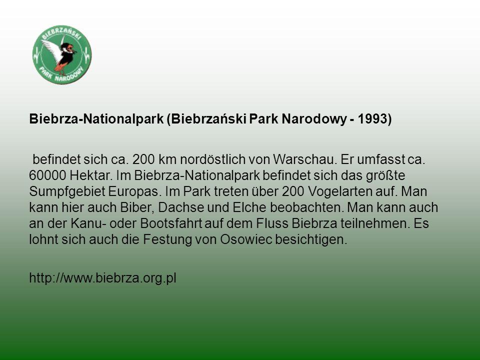 Biebrza-Nationalpark (Biebrzański Park Narodowy - 1993)