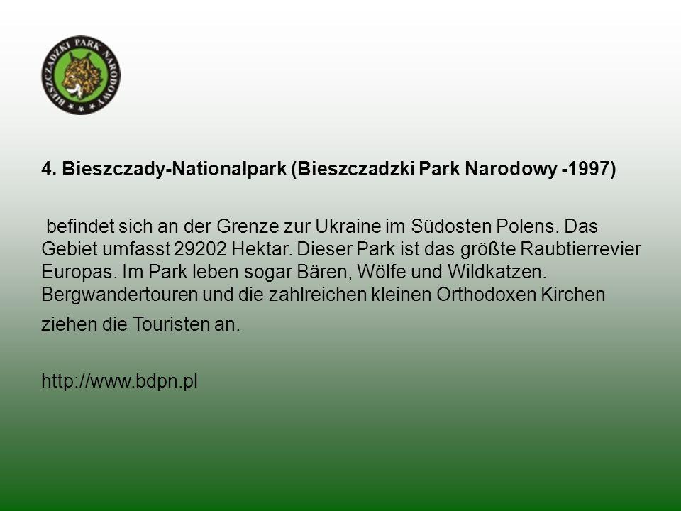 4. Bieszczady-Nationalpark (Bieszczadzki Park Narodowy -1997)