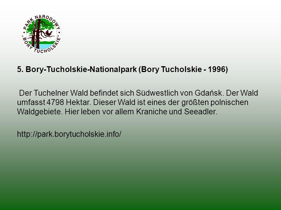 5. Bory-Tucholskie-Nationalpark (Bory Tucholskie - 1996)