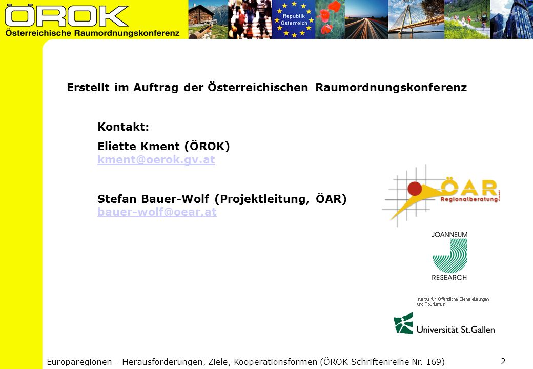 Erstellt im Auftrag der Österreichischen Raumordnungskonferenz