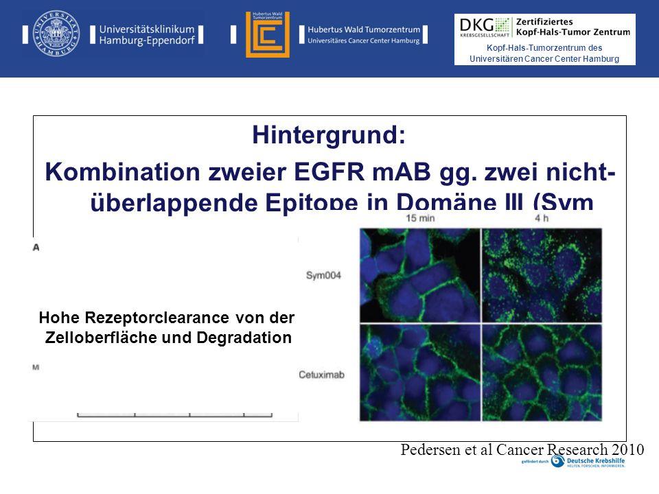 Hohe Rezeptorclearance von der Zelloberfläche und Degradation