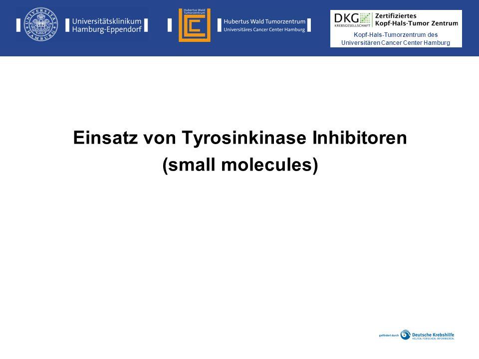 Einsatz von Tyrosinkinase Inhibitoren