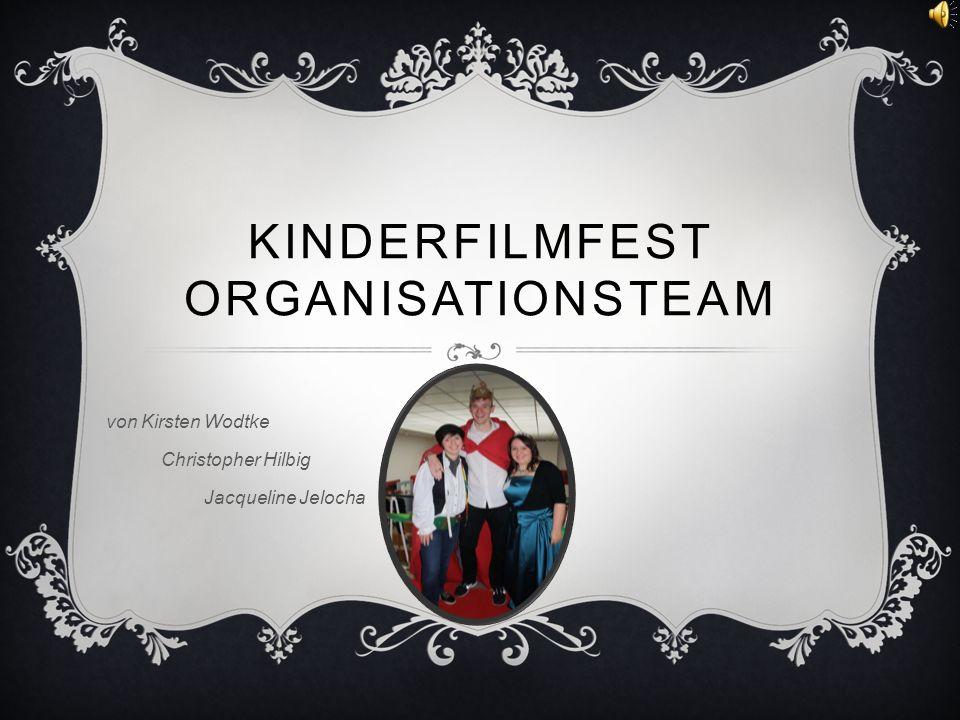 Kinderfilmfest Organisationsteam