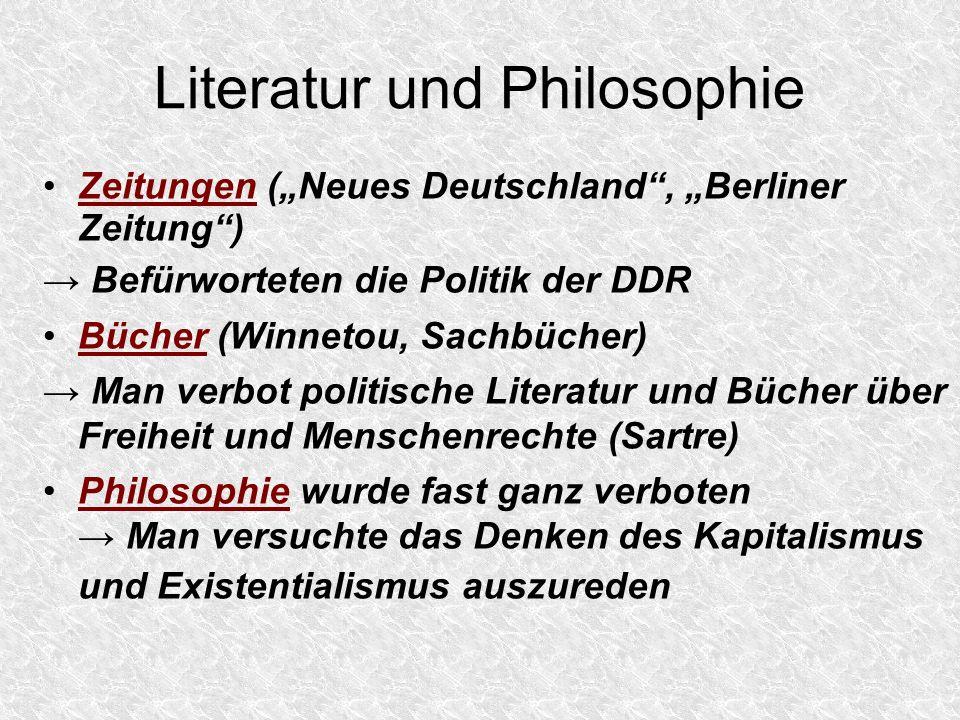 Literatur und Philosophie