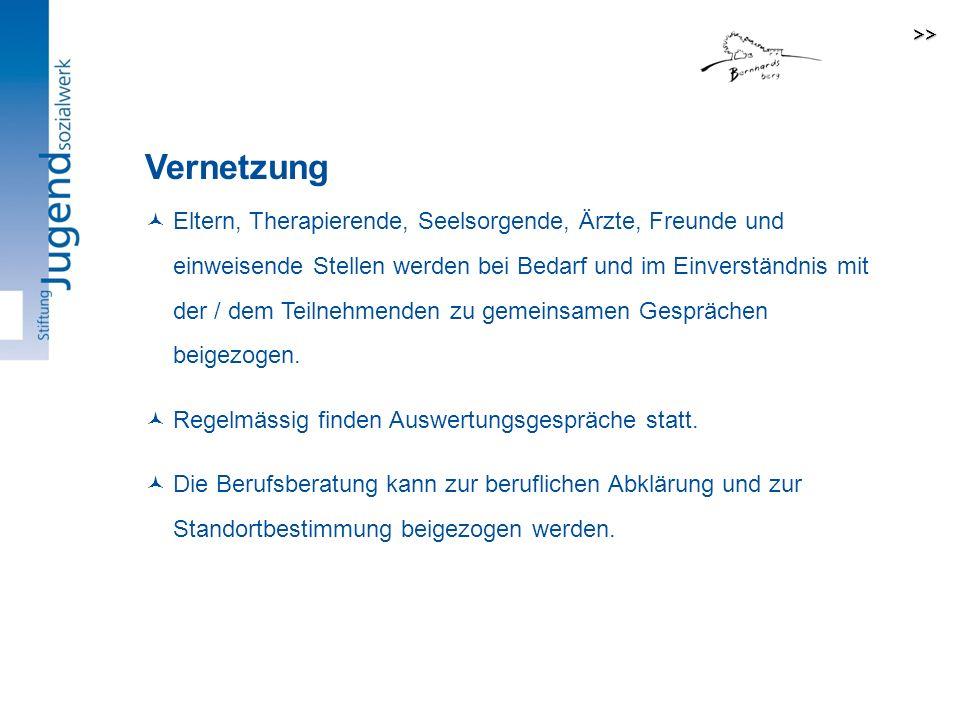 >> Vernetzung.