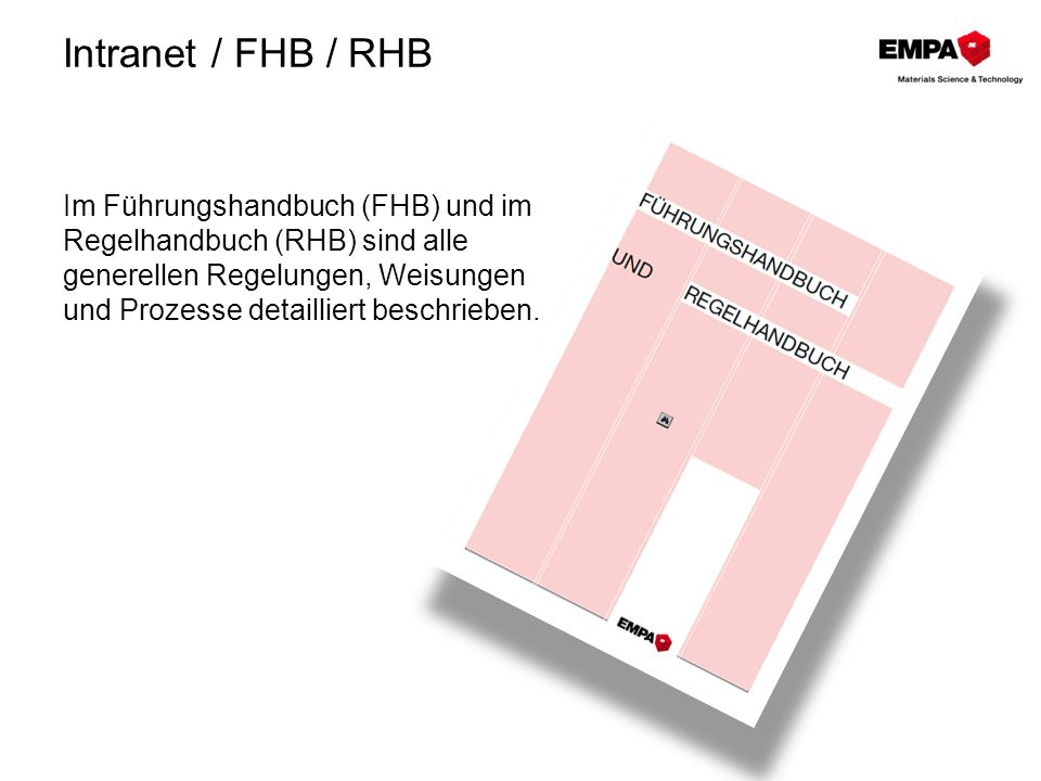 Intranet / FHB / RHB