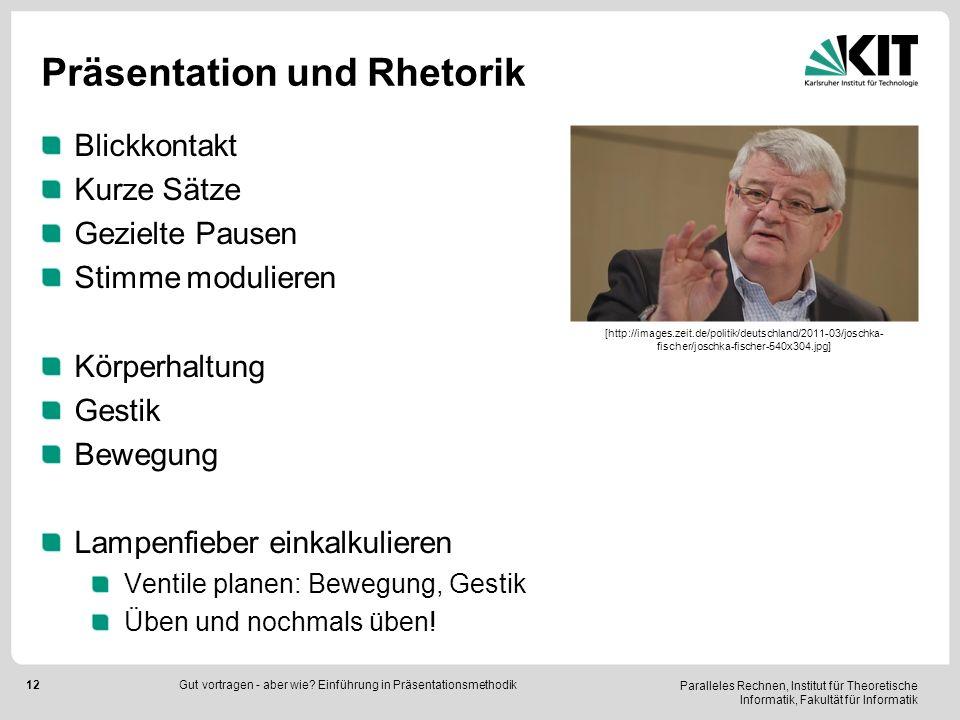 Präsentation und Rhetorik