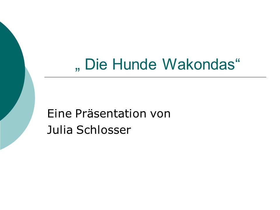 Eine Präsentation von Julia Schlosser