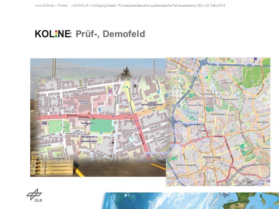 KOLINE: Prüf-, Demofeld