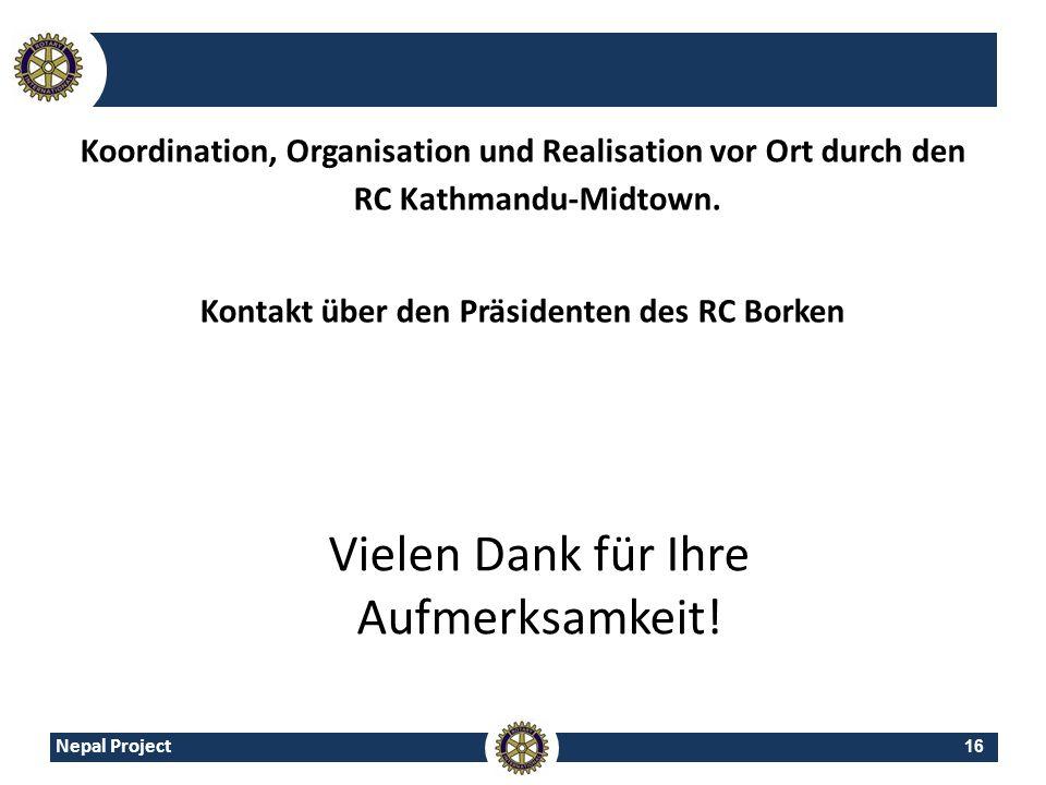 Kontakt über den Präsidenten des RC Borken