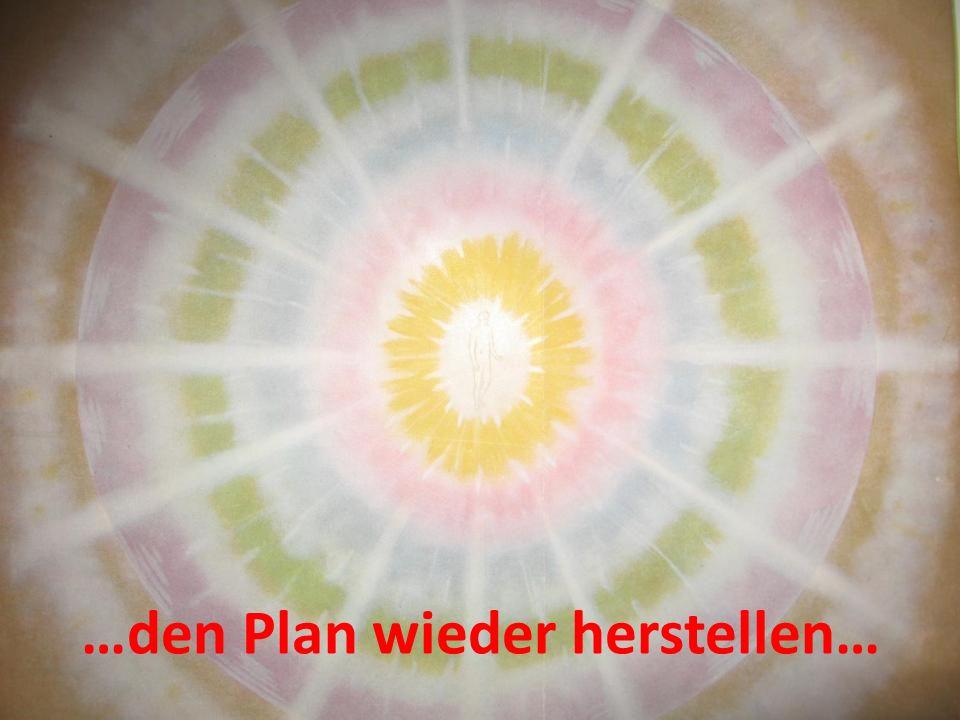 …den Plan wieder herstellen…