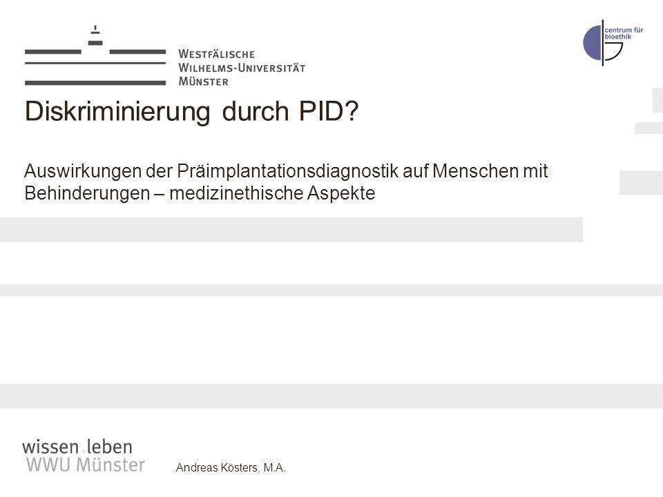 Diskriminierung durch PID