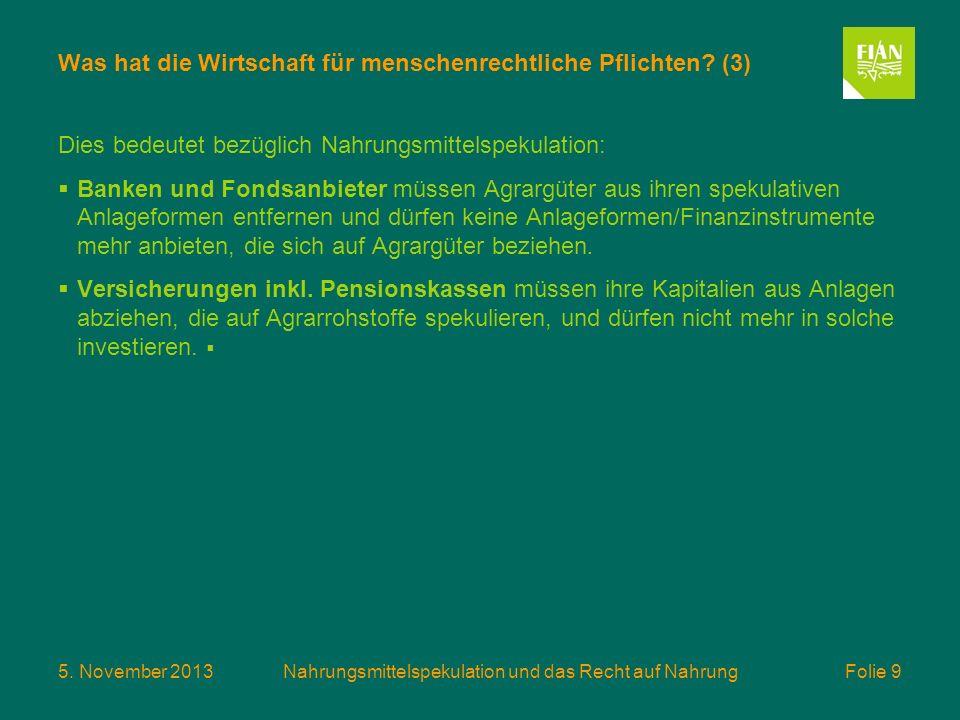 Was hat die Wirtschaft für menschenrechtliche Pflichten (3)