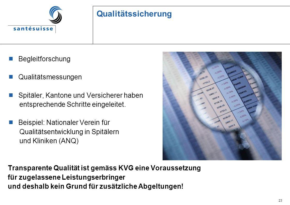 Qualitätssicherung Begleitforschung Qualitätsmessungen