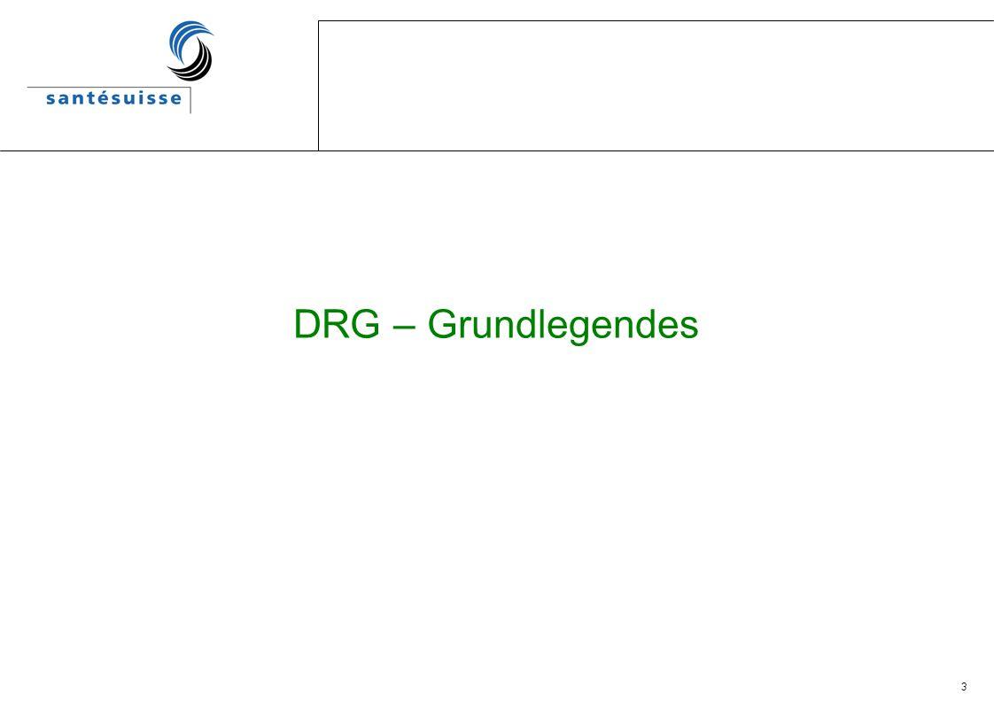 DRG – Grundlegendes