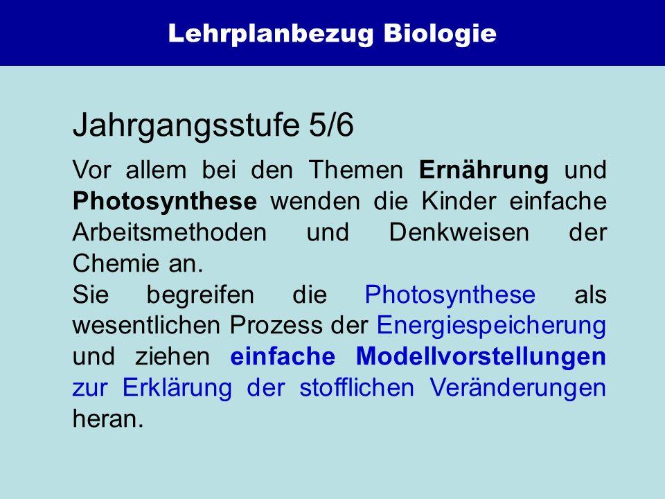 Lehrplanbezug Biologie