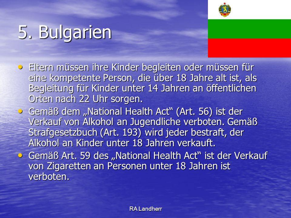 5. Bulgarien
