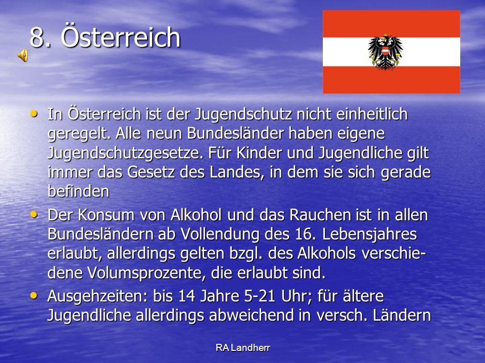 8. Österreich