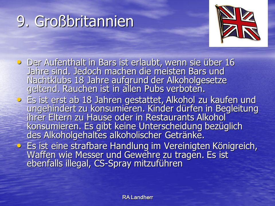 9. Großbritannien